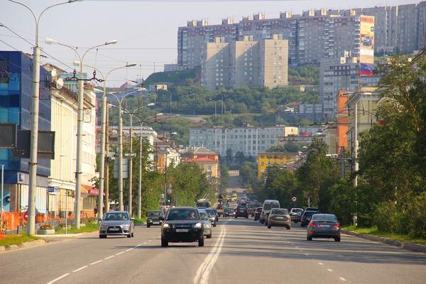 Город-герой Мурманск, ул.Ленина